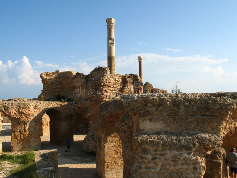 Carthago royalty-vrije stock foto