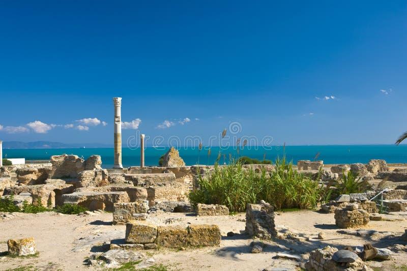 Carthago - de Baden Antonine stock afbeeldingen