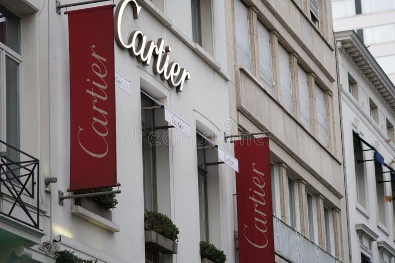 Cartier徽标 库存照片
