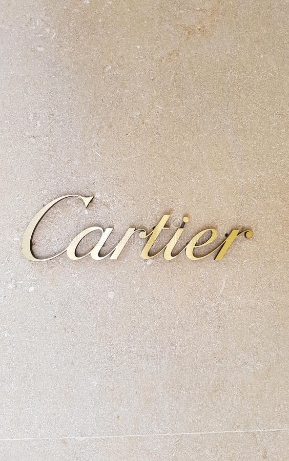 Cartier store editorial image Image of france fashion 81335715