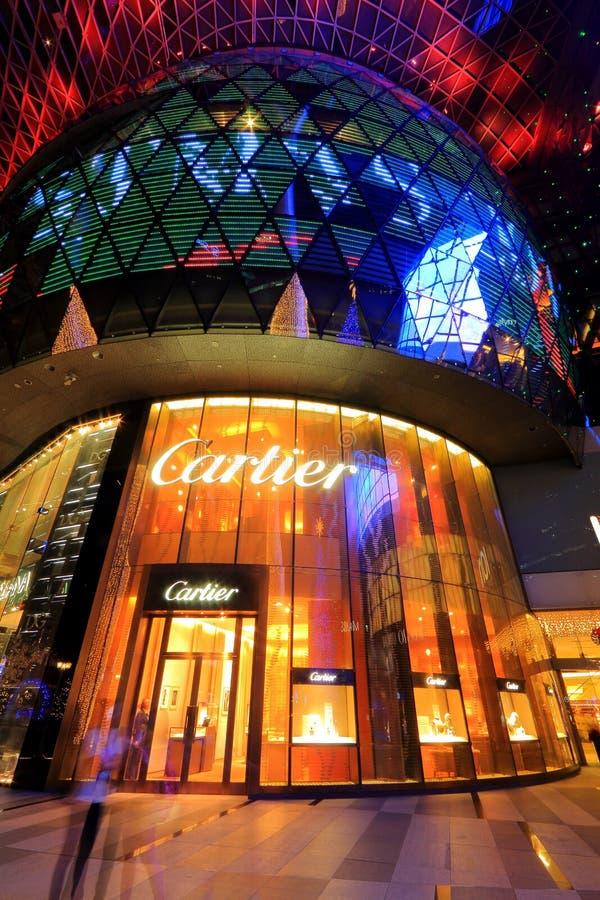 Cartier Store en el ion de la huerta foto de archivo