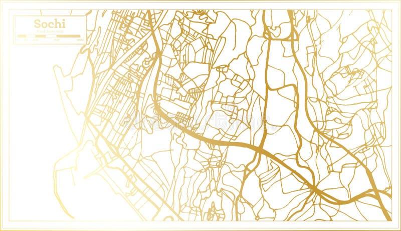 Sochi Russia Cartina.Sochi Russia Illustrazione Vettoriale Illustrazione Di Vettore 72262497