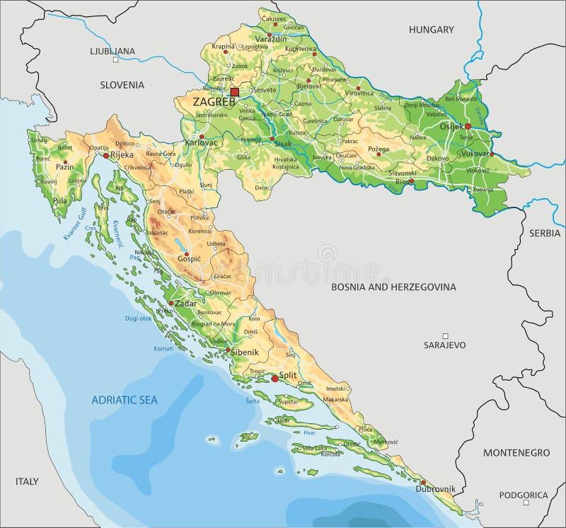Cartina Italia Politica Alta Definizione.Alta Mappa Fisica Dettagliata Dell Africa Illustrazione Vettoriale Illustrazione Di Geografia Citta 143237741