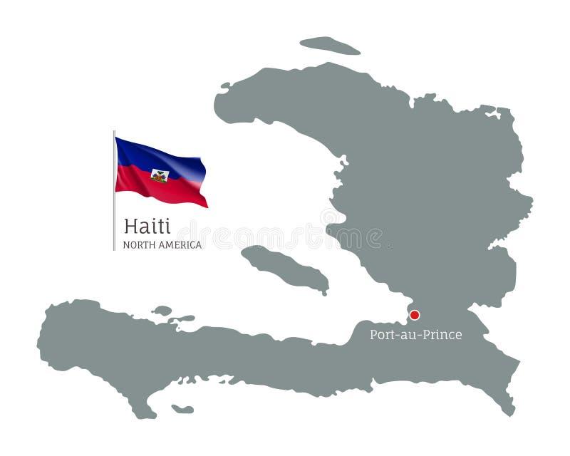 Cartina Geografica Haiti.Haiti Un Paese Con Il Cuore Rosso E La Sua Capitale Port Au Prince Design Con Il Logo Della Tipografia Creativa Illustrazione Vettoriale Illustrazione Di Simbolo Figura 164439199