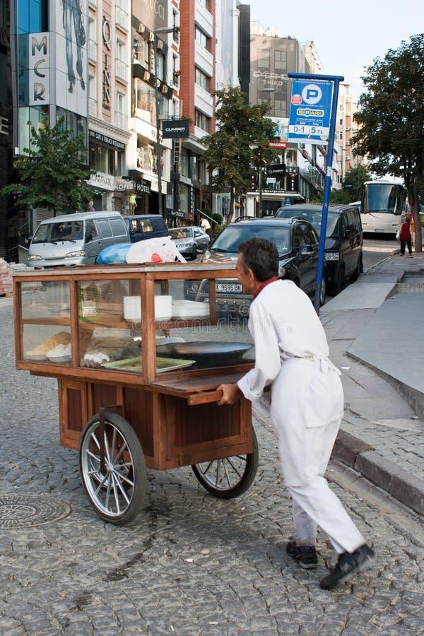 cartman Κωνσταντινούπολη στοκ εικόνα με δικαίωμα ελεύθερης χρήσης
