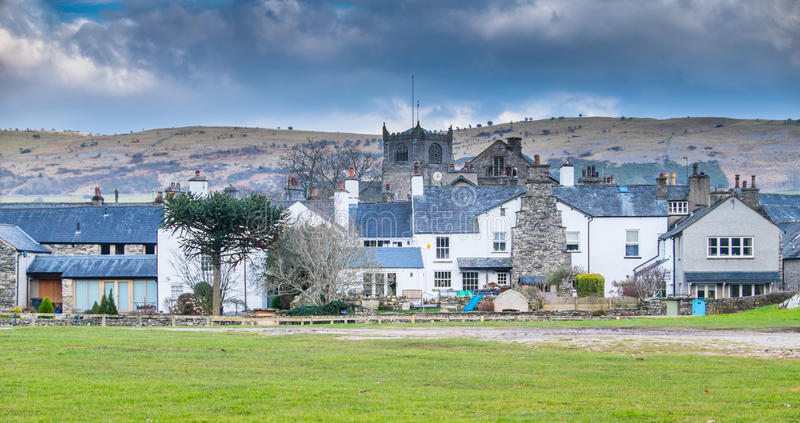 cartmel του χωριού cumbria UK στοκ εικόνες με δικαίωμα ελεύθερης χρήσης