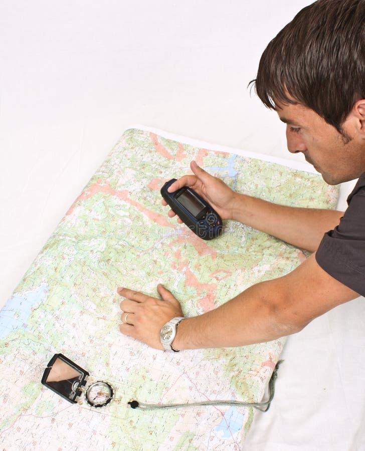 cartography royaltyfria foton