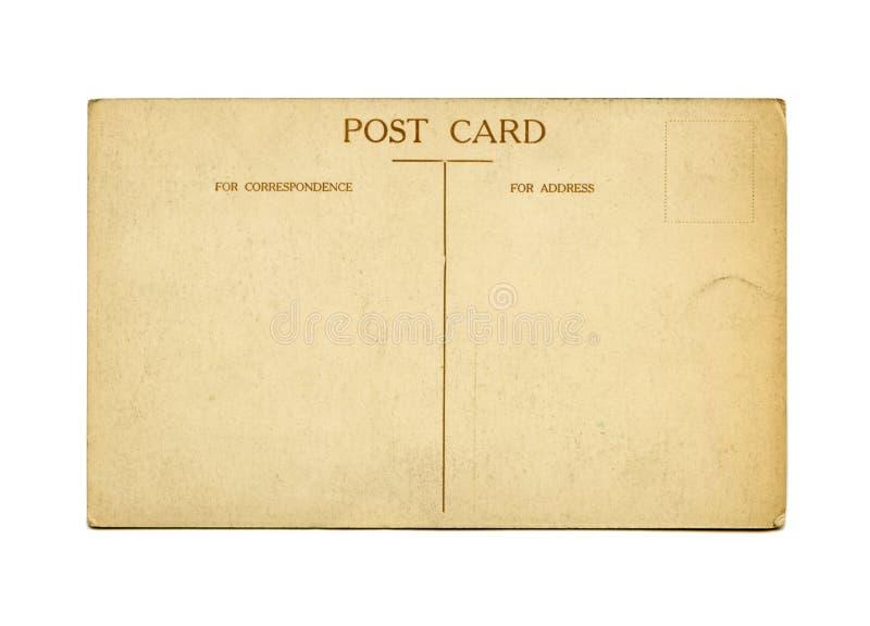Cartolina antica immagini stock libere da diritti