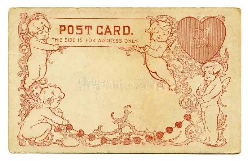 Cartolina antica immagine stock libera da diritti