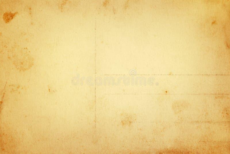 Cartolina calda dell'annata immagine stock