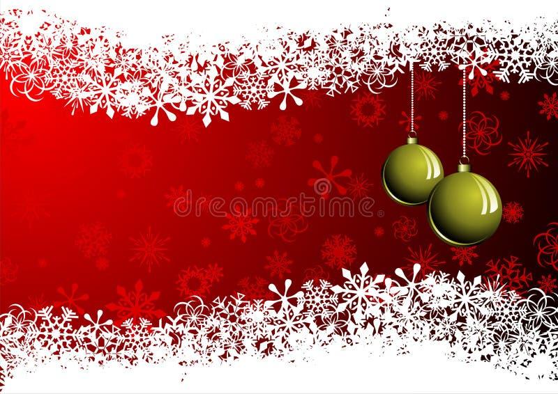 Cartolina - Christmas2 allegro illustrazione di stock