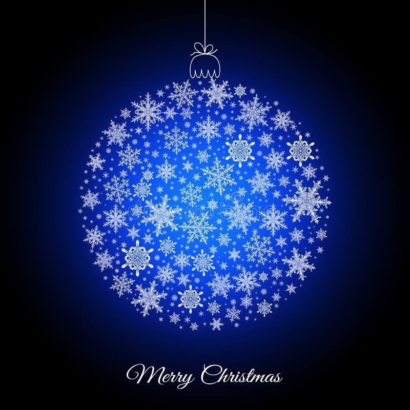 Cartolina d'auguri decorativa di Buon Natale fotografie stock