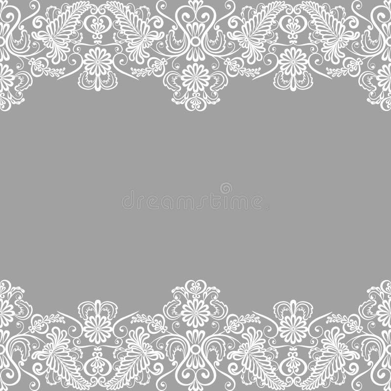 Partecipazione di nozze illustrazione di stock