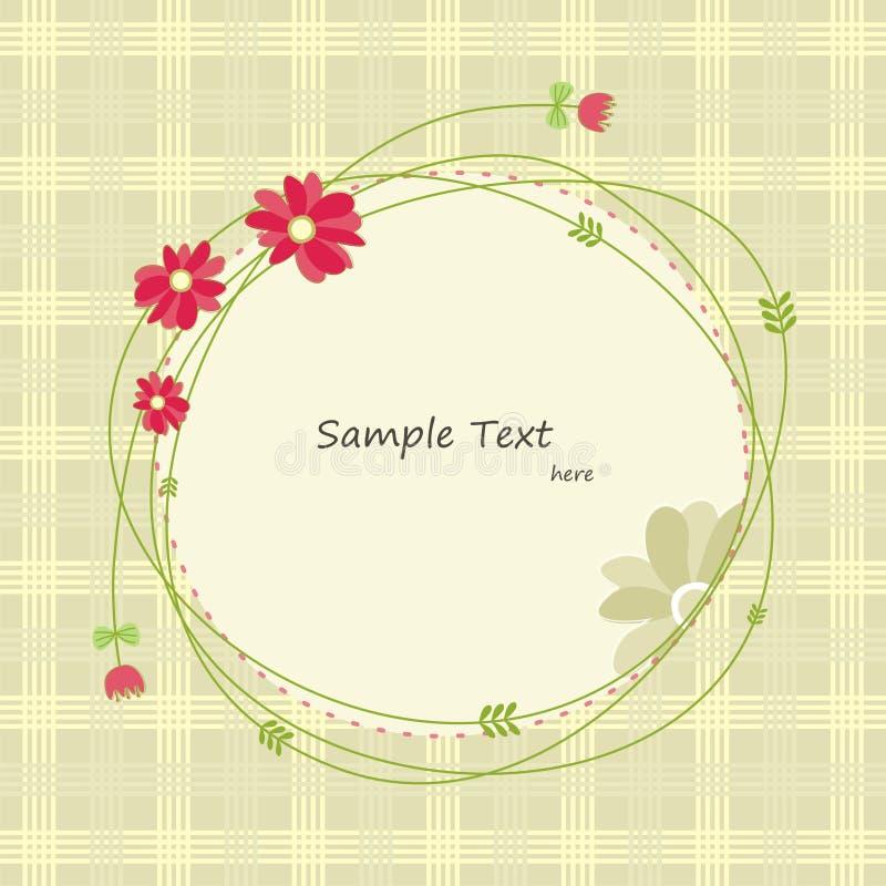 Cartolina d'auguri della primavera (1) immagini stock libere da diritti