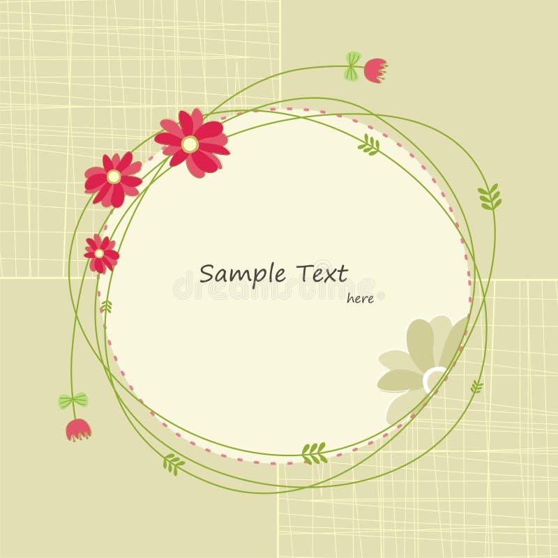 Cartolina d'auguri della primavera (3) immagine stock libera da diritti