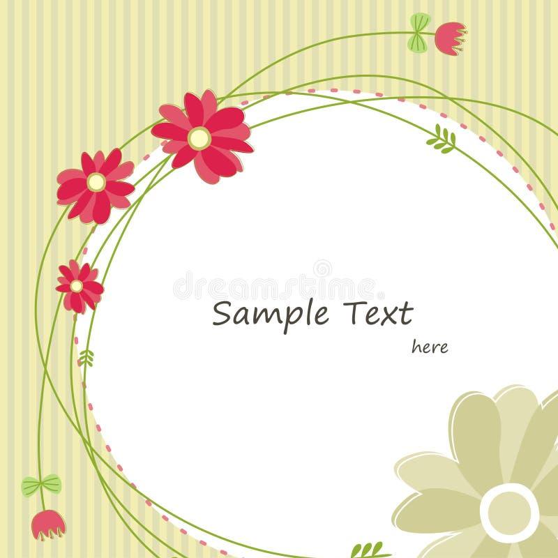 Cartolina d'auguri della primavera (4) fotografia stock libera da diritti