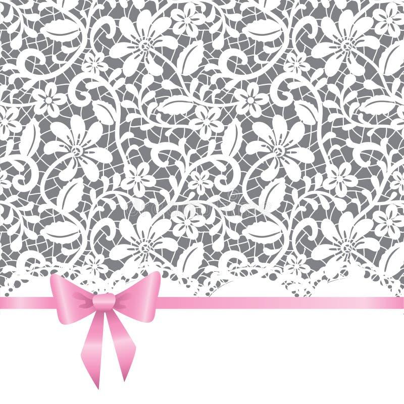 Cartolina d'auguri di cerimonia nuziale, dell'invito o illustrazione vettoriale