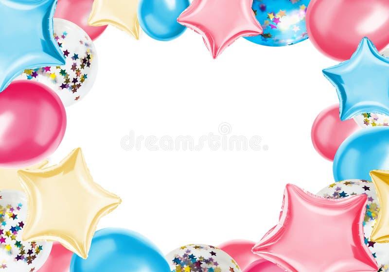 Cartolina d'auguri di compleanno fotografie stock libere da diritti