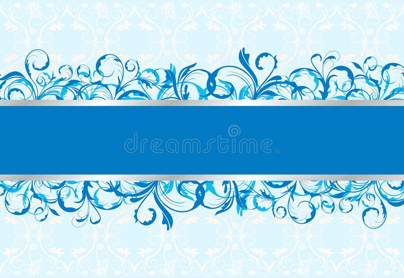 Cartolina d'auguri floreale royalty illustrazione gratis
