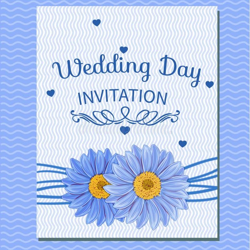 Cartolina d'auguri floreale dell'invito royalty illustrazione gratis