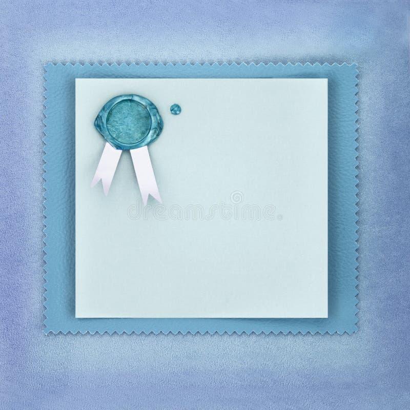 Cartolina d'auguri o dell'invito illustrazione vettoriale