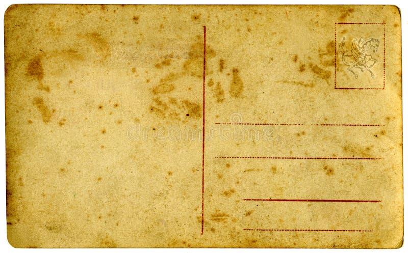 Cartolina dell'annata. fotografia stock