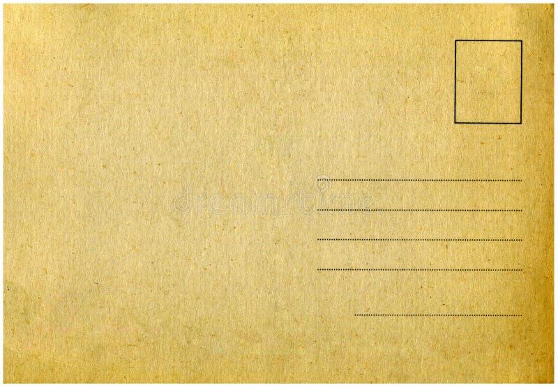 Cartolina dell'annata. fotografie stock