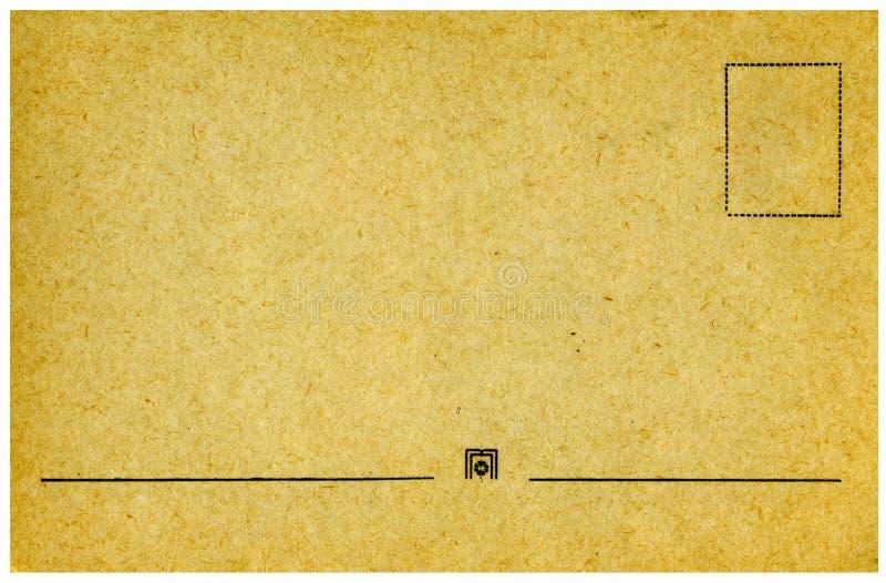 Cartolina dell'annata. immagine stock