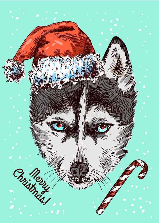 Cartolina di Buon Natale royalty illustrazione gratis