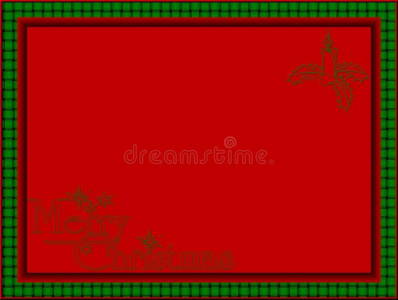 Cartolina di Natale immagine stock