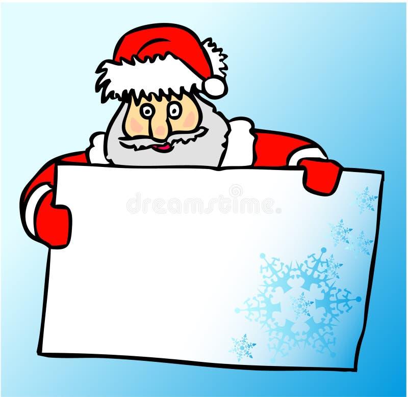 Cartolina di Natale di vettore royalty illustrazione gratis
