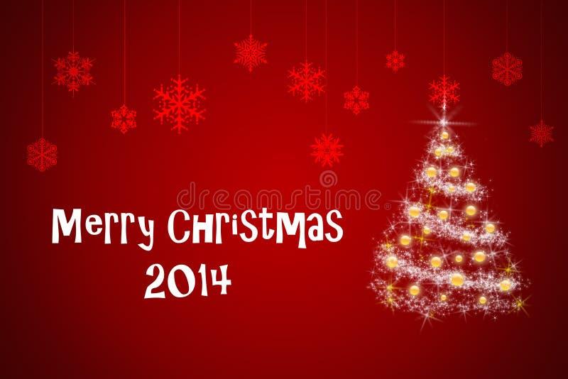 Cartolina di Natale e nuovo anno immagine stock
