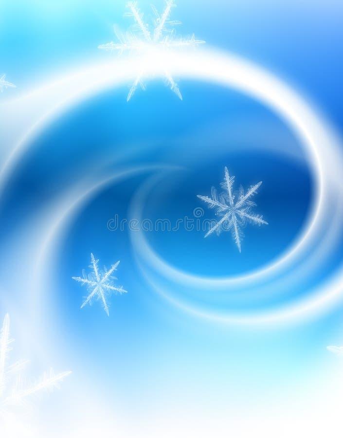 Cartolina di Natale felice illustrazione vettoriale