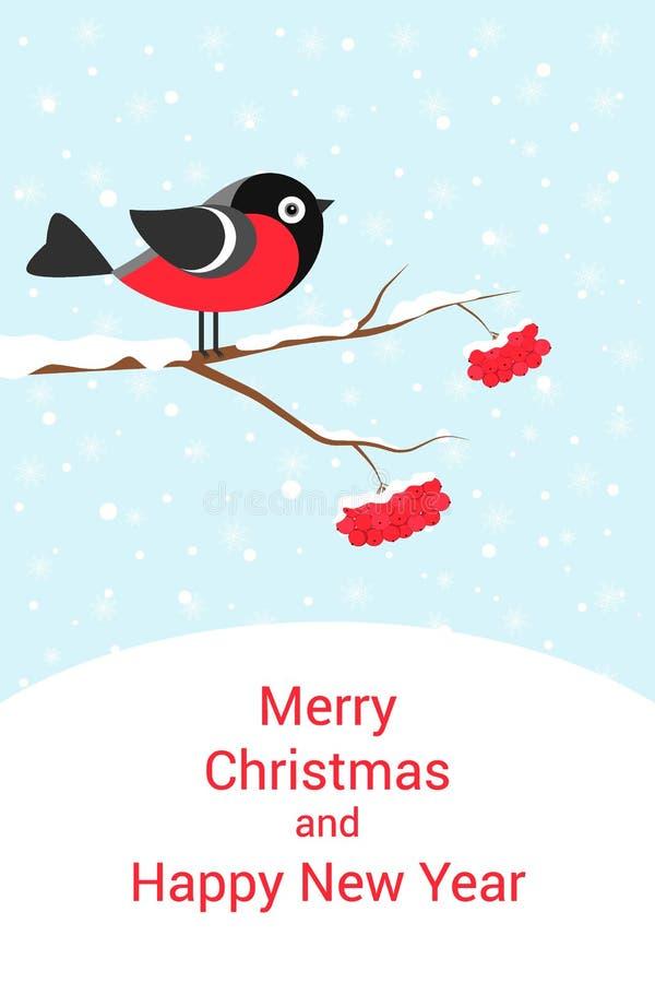 Cartolina di Natale festiva immagini stock