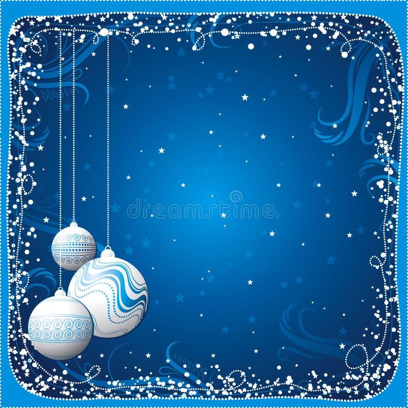 Cartolina di Natale, vettore royalty illustrazione gratis