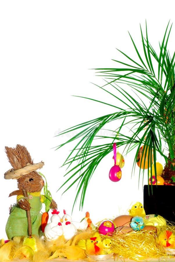 Cartolina di Pasqua fotografia stock libera da diritti