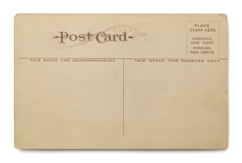 Cartolina invecchiata immagine stock libera da diritti