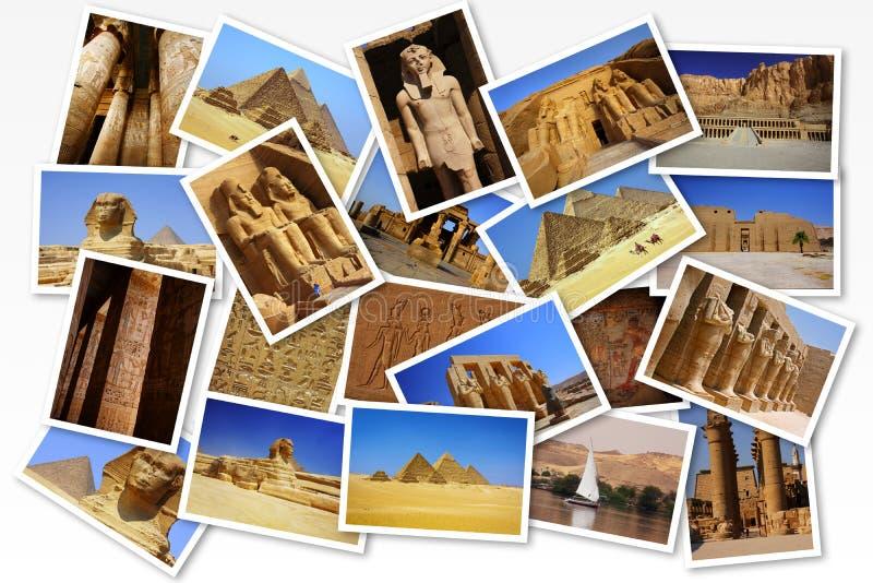 Cartoline dall'Egitto immagini stock