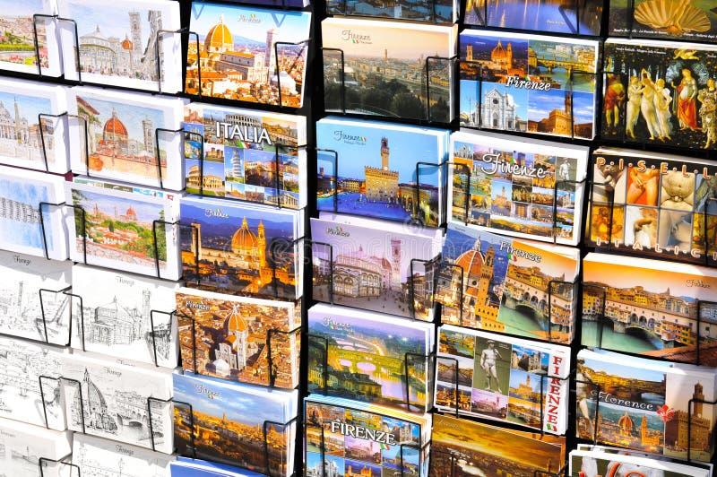 Cartoline dall'Italia immagine stock libera da diritti