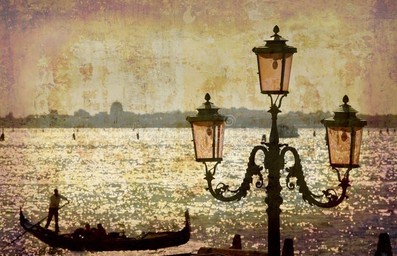 Cartoline dall'Italia (serie) immagini stock libere da diritti