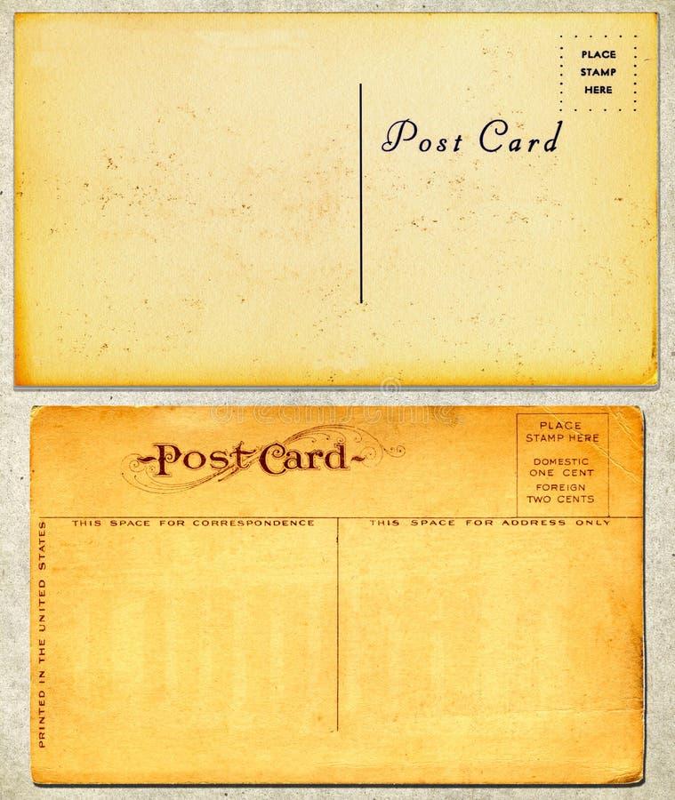Cartoline dell'annata fotografia stock