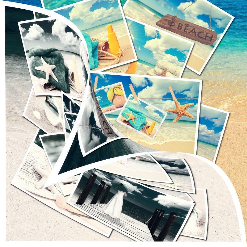 Cartoline di estate fotografie stock