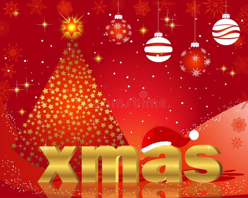 Cartoline di Natale. royalty illustrazione gratis
