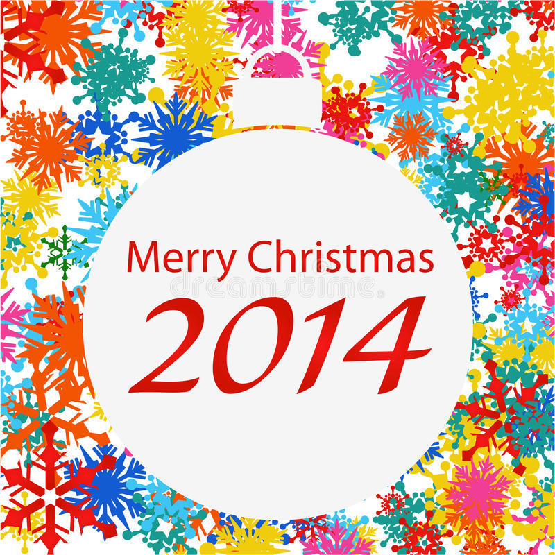 Cartoline di Natale immagine stock libera da diritti