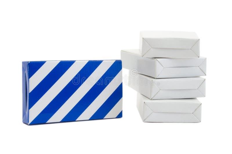 Carton Stock Image