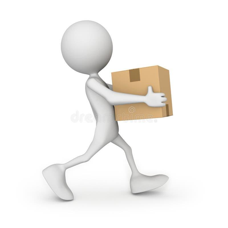 Download Carton stock illustration. Image of paper, computer, delivering - 16409145