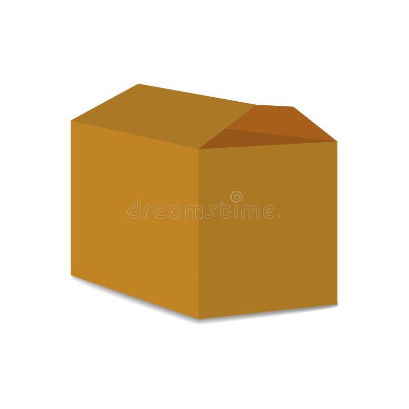 carton box delivery packaging vector illustration stock vector rh dreamstime com vector packaging inc vector packaging inc