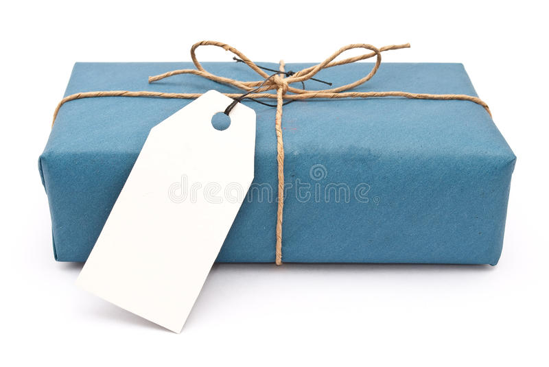 Carton box post package stock image
