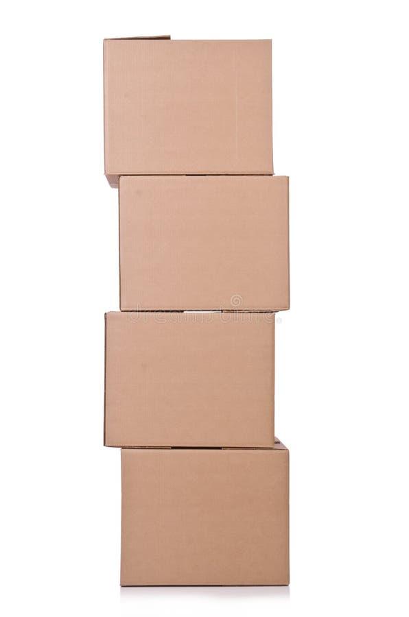 Carton Boxes Stock Image
