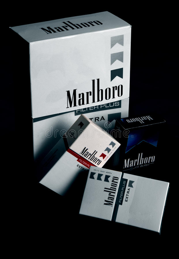 Carton And Boxes Of Marlboro Cigarettes Free Public Domain Cc0 Image